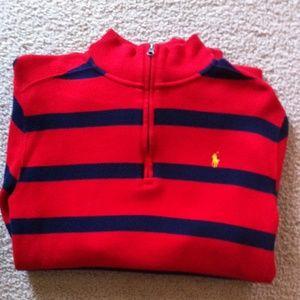 Polo Ralph Lauren Half Zip Up Boys Sweater.